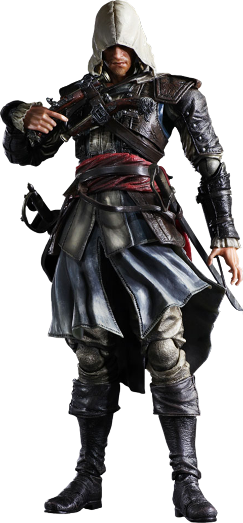 Square Enix Edward Kenway  Collectible Figure