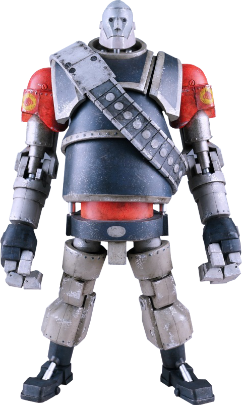 ThreeA Toys Robot Heavy - Red Team Collectible Figure