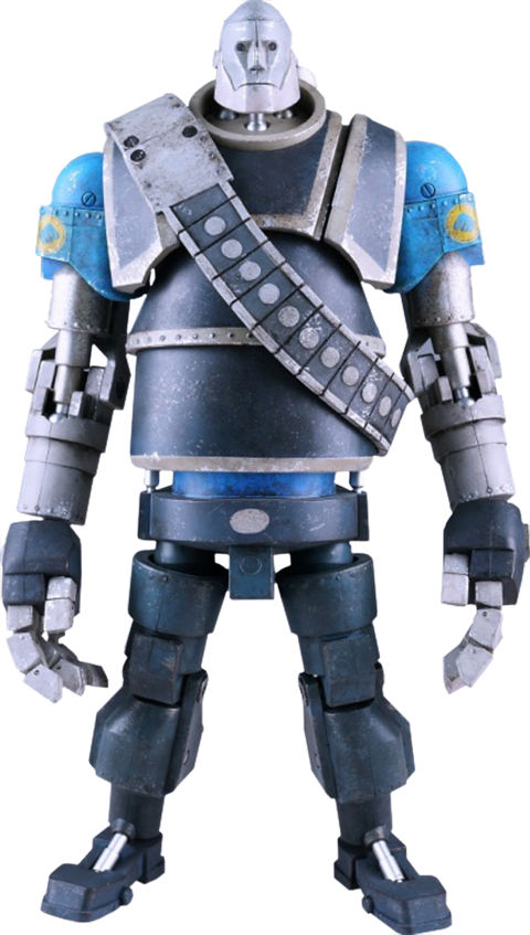 ThreeA Toys Robot Heavy - Blue Team Collectible Figure