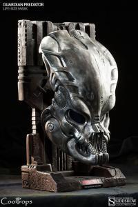Gallery Image of Guardian Predator Mask Prop Replica
