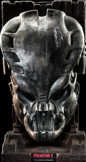 Guardian Predator Mask Prop Replica