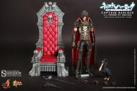 Gallery Image of Captain Harlock with Throne of Arcadia Sixth Scale Figure