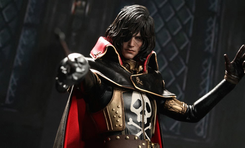 Gallery Feature Image of Captain Harlock Sixth Scale Figure - Click to open image gallery