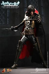 Gallery Image of Captain Harlock Sixth Scale Figure