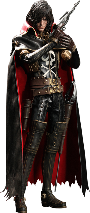 Captain Harlock Sixth Scale Figure