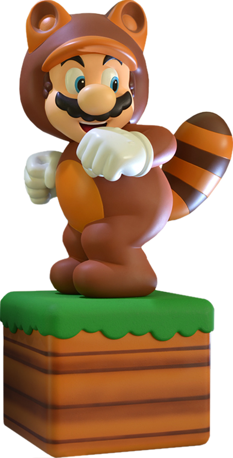 First 4 Figures Tanooki Suit Mario Statue