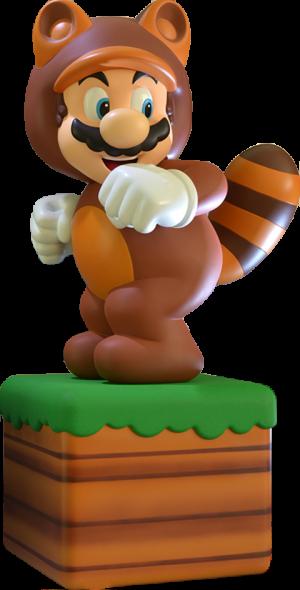 Tanooki Suit Mario Statue