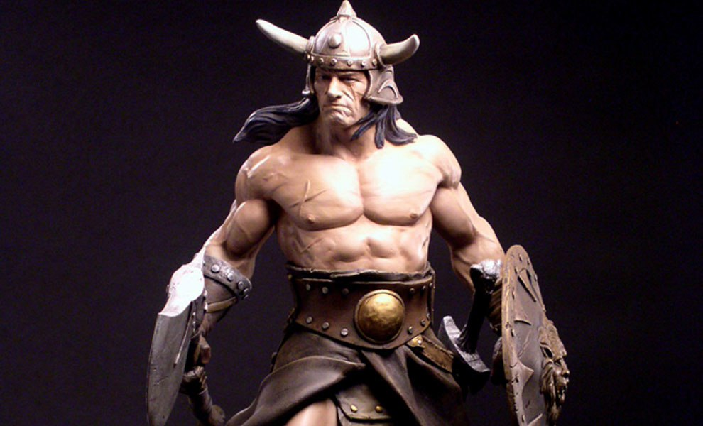 Gallery Feature Image of Conan the Brutal Statue - Click to open image gallery