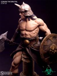 Gallery Image of Conan the Brutal Statue