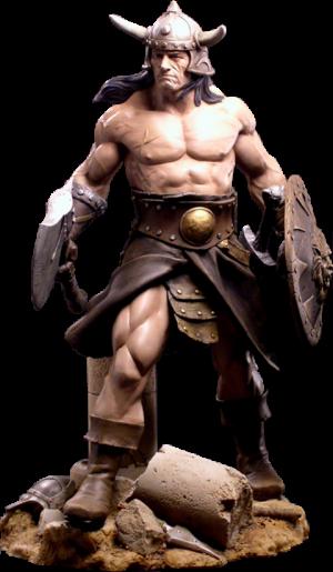 Conan the Brutal Statue