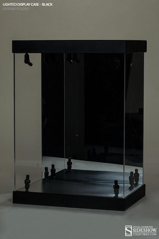 "Acrylic Display Case LED Light Box for 12/"" 1//6th Scale HAWKEYE Clint Bart Figure"