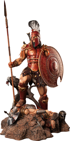 Ares: The God of War Statue