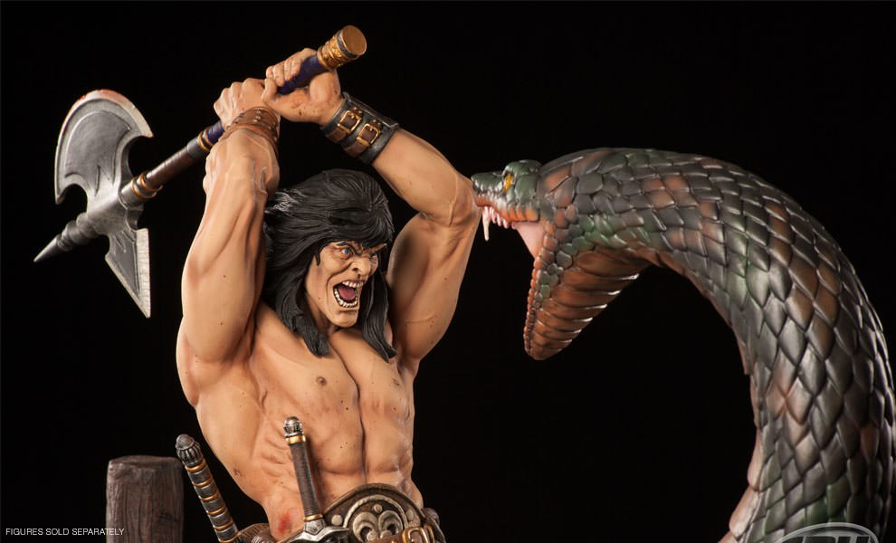 Gallery Feature Image of Conan: The Sacrifice Statue - Click to open image gallery