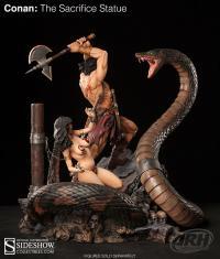 Gallery Image of Conan: The Sacrifice Statue
