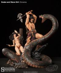 Gallery Image of Snake and Slave Girl Polystone Diorama