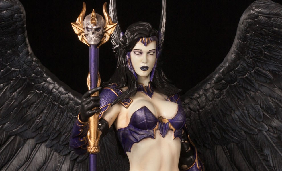 Gallery Feature Image of Angel of Darkness Statue - Click to open image gallery