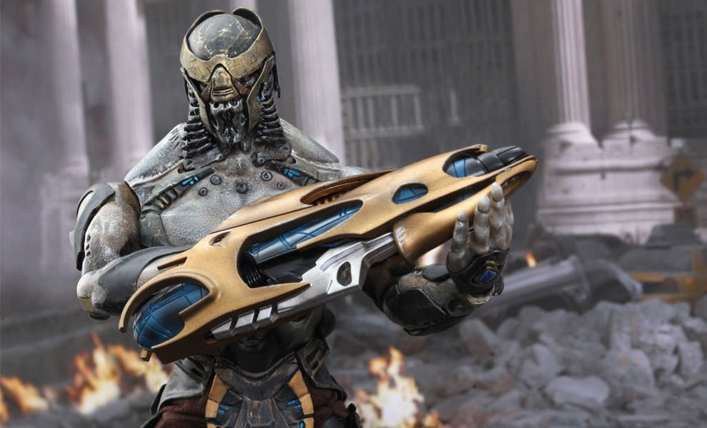 Gallery Feature Image of Chitauri Footsoldier Sixth Scale Figure - Click to open image gallery
