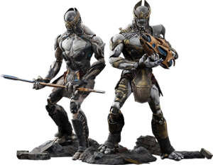 Chitauri Commander and Footsoldier Sixth Scale Figure