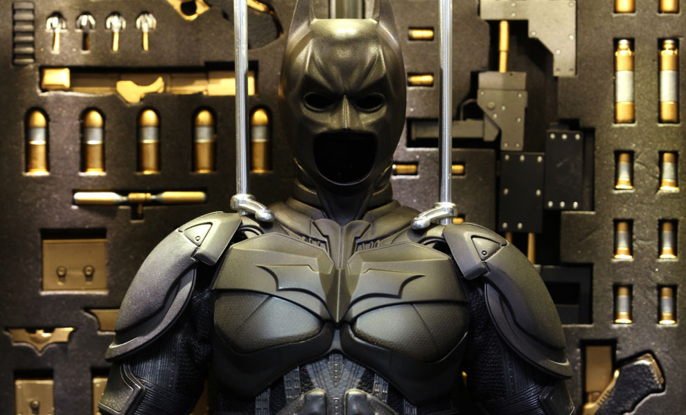 Gallery Feature Image of Batman Armory with Batman Sixth Scale Figure - Click to open image gallery