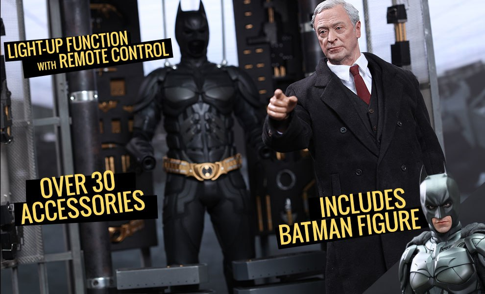 Gallery Feature Image of Batman Armory with Alfred Pennyworth Sixth Scale Figure - Click to open image gallery