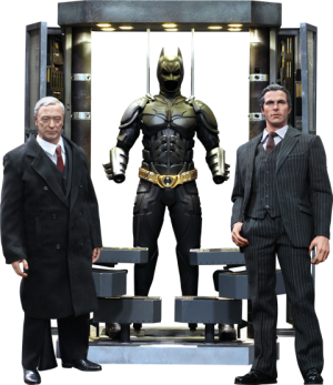 Batman Armory with Bruce Wayne and Alfred Sixth Scale Figure
