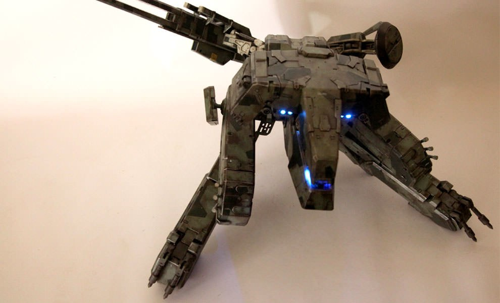 Gallery Feature Image of Metal Gear Solid Rex Collectible Figure - Click to open image gallery