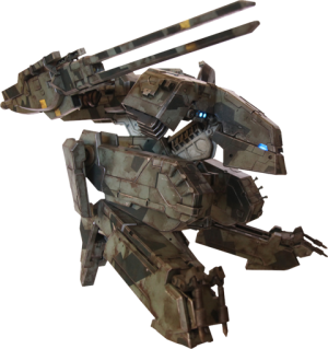 Metal Gear Solid Rex Collectible Figure