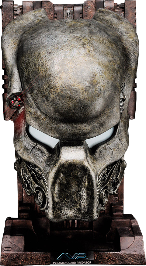 CoolProps Pyramid Guard Predator Mask Prop Replica