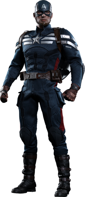 Captain America - Stealth S.T.R.I.K.E. Suit Sixth Scale Figure