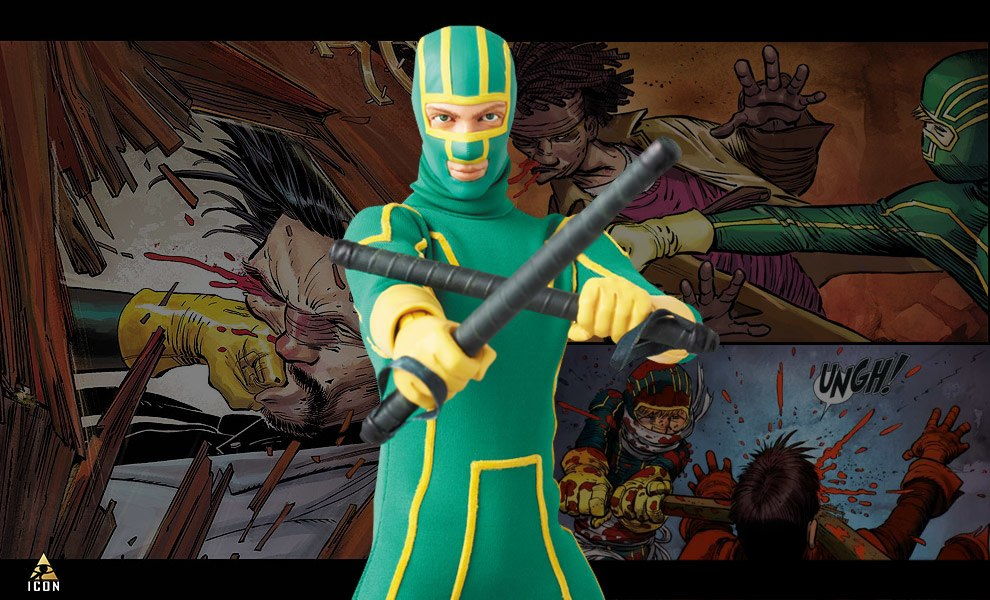 Gallery Feature Image of Kick-Ass Sixth Scale Figure - Click to open image gallery