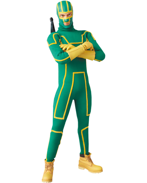 Medicom Toy Kick-Ass Sixth Scale Figure