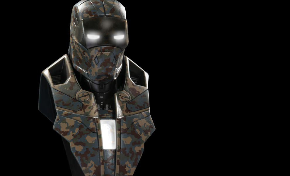 Gallery Feature Image of Iron Man Mark 23 - Shades Collectible Bust - Click to open image gallery