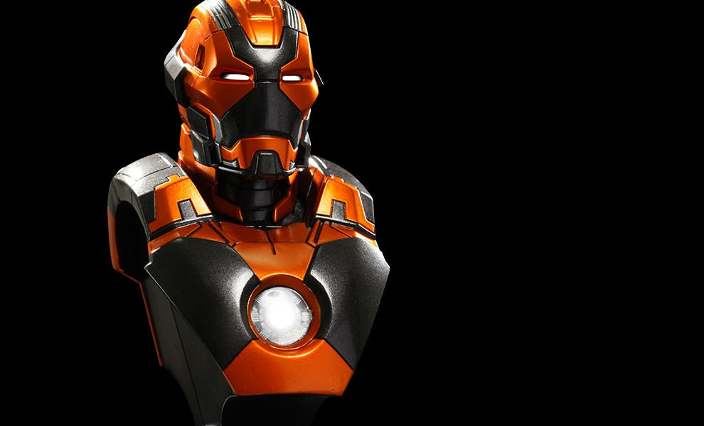 Gallery Feature Image of Iron Man Mark 28 - Jack Collectible Bust - Click to open image gallery