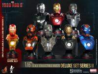 Gallery Image of Iron Man 3 Deluxe (Set of Eight) Collectible Bust