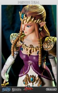 Gallery Image of Twilight Princess Zelda Polystone Statue