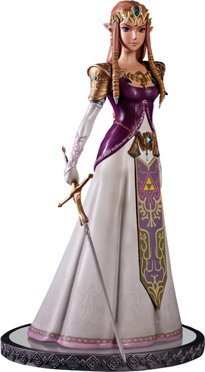 First 4 Figures Twilight Princess Zelda Polystone Statue