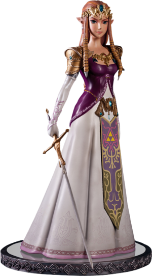 Twilight Princess Zelda Polystone Statue