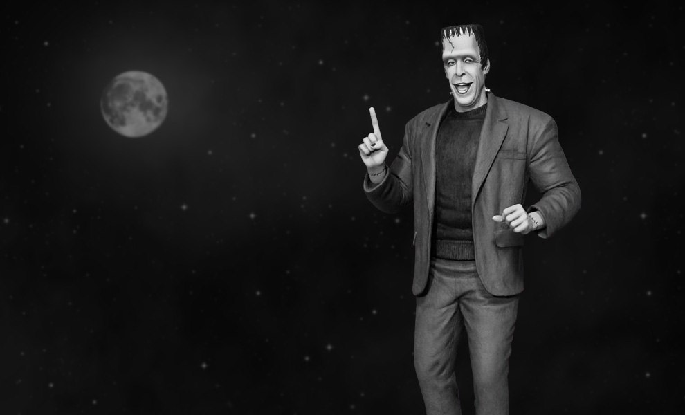Gallery Feature Image of Herman Munster Maquette - Click to open image gallery