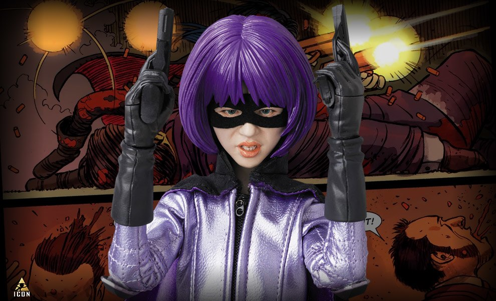 Gallery Feature Image of Hit-Girl Sixth Scale Figure - Click to open image gallery