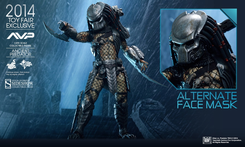 Alien VS Predator Ancient Predator Sixth Scale Figure by Hot