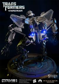 Gallery Image of Starscream Polystone Statue