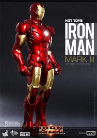 Gallery Image of Iron Man Mark III Sixth Scale Figure