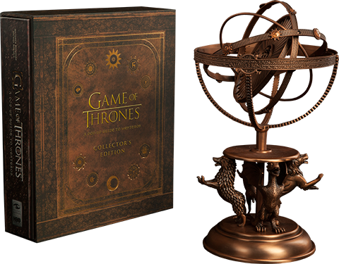 Insight Collectibles Game of Thrones Astrolabe with Game of Thrones A Pop-Up Guide to Westeros Collectors Edition Book