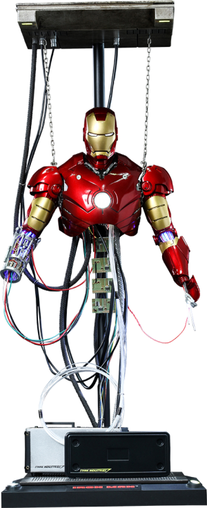 Iron Man Mark III Construction Version Sixth Scale Figure