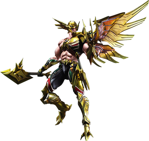 Square Enix Hawkman Collectible Figure