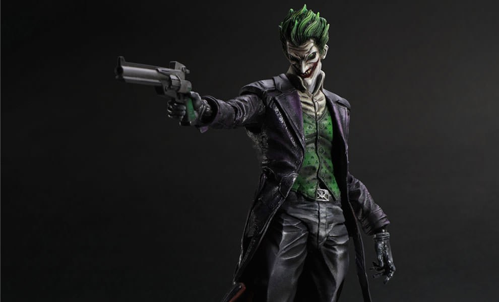 Gallery Feature Image of The Joker - Arkham Origins Collectible Figure - Click to open image gallery