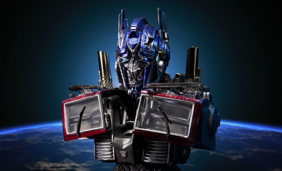 Gallery Feature Image of Optimus Prime Final Battle Version Bust - Click to open image gallery