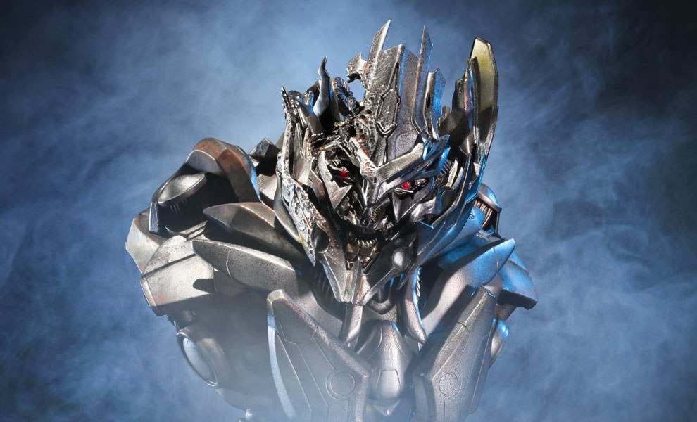 Gallery Feature Image of Megatron Final Battle Version Bust - Click to open image gallery