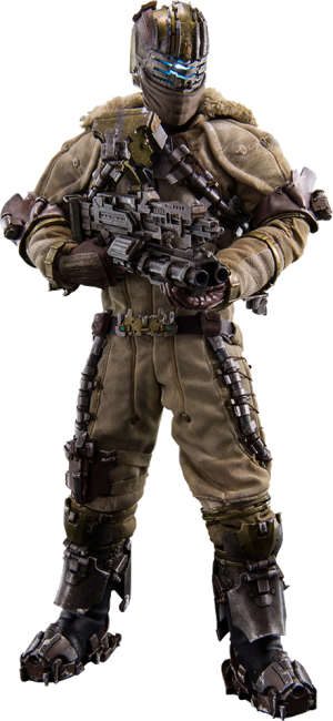 Isaac Clarke Snow Suit version Sixth Scale Figure