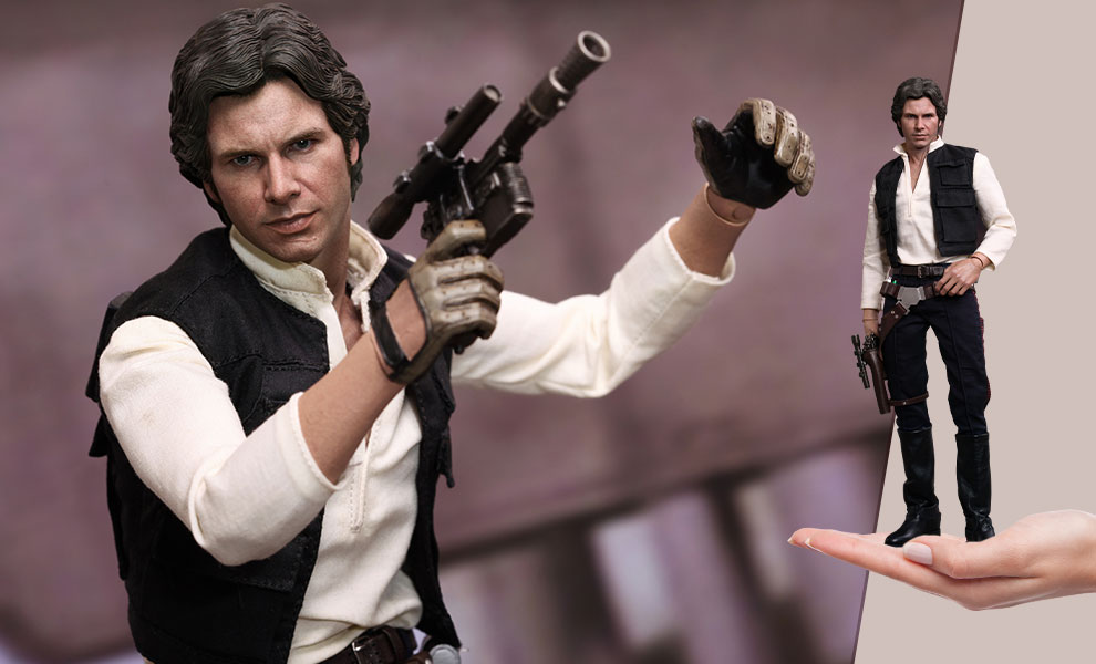 Gallery Feature Image of Han Solo Sixth Scale Figure - Click to open image gallery